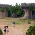 De paseo por la Ciudad Encantada de Cuenca