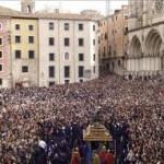 La procesión de Las Turbas de la Semana Santa de Cuenca